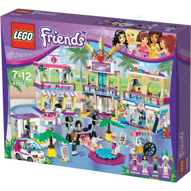 LEGO FRIENDS 41058 CENTRUM HANDLOWE HERTLAKE