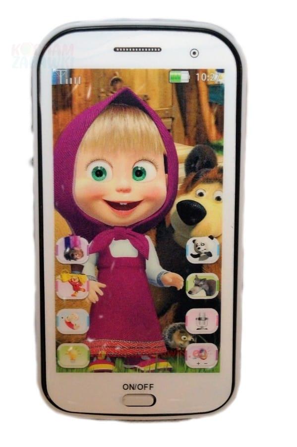 6cf794bd4f masza i niedzwiedz smartfon dla dziecka telefon ...