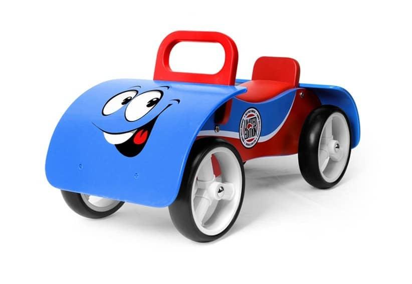 pierwszy jeździk niebieski