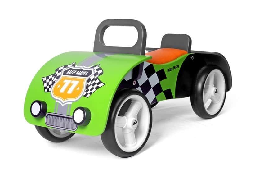 pierwszy drewniany jeździk dla dzieci