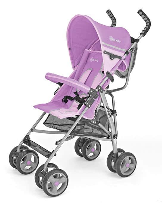 wózek spacerowy parasolka pink