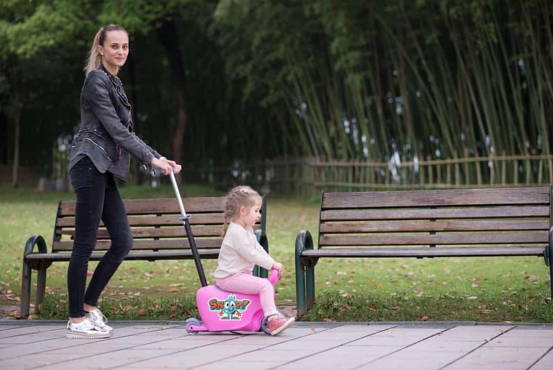 pchacz dla mniejszych dzieci