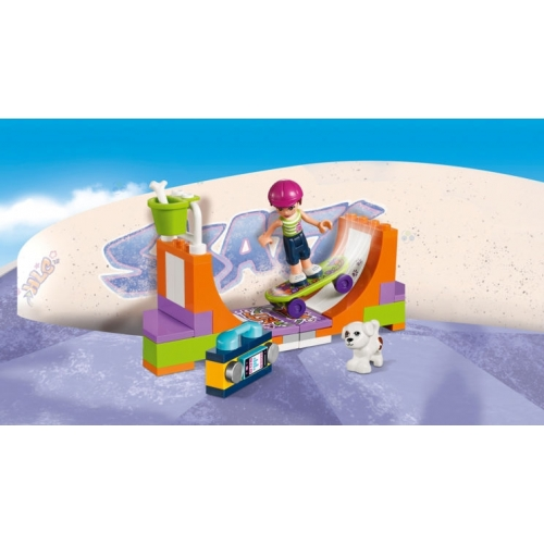 LEGO FRIENDS 41099 SKATEPARK W HEARTLAKE